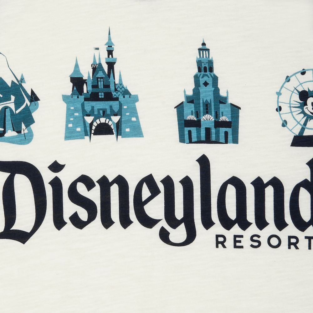 Disneyland Resort Raglan T-Shirt for Men