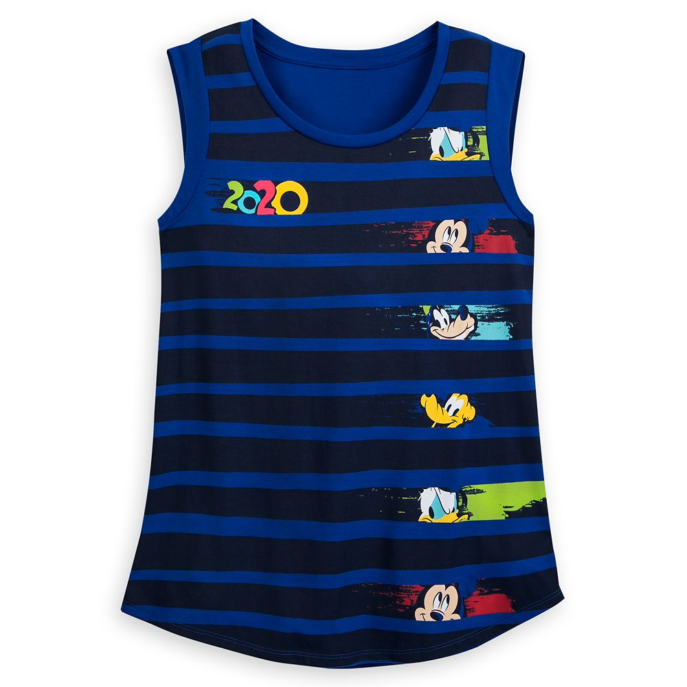 Mickey Mouse and Friends Tank Top for Women – Walt Disney World 2020