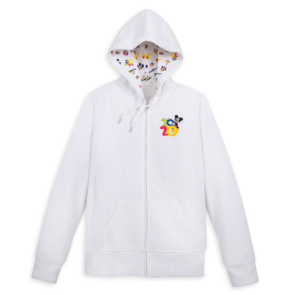 Mickey Mouse and Friends Zip-Up Hoodie for Women – Walt Disney World 2020