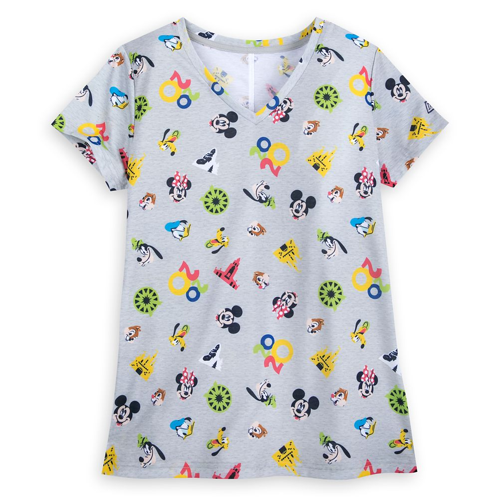 Mickey Mouse and Friends T-Shirt for Women – Disneyland 2020