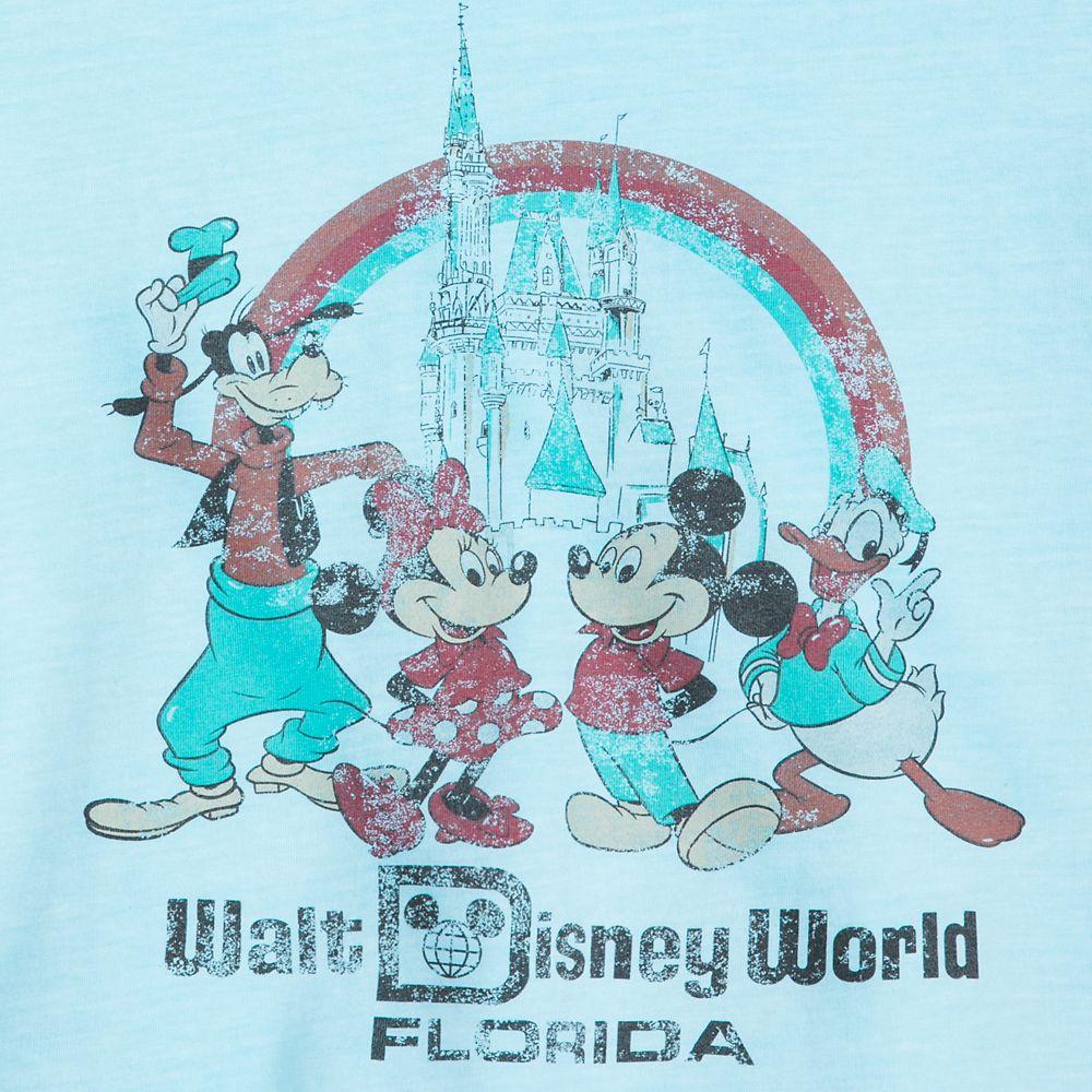 Mickey Mouse and Friends Retro Souvenir T-Shirt for Women – Walt Disney World