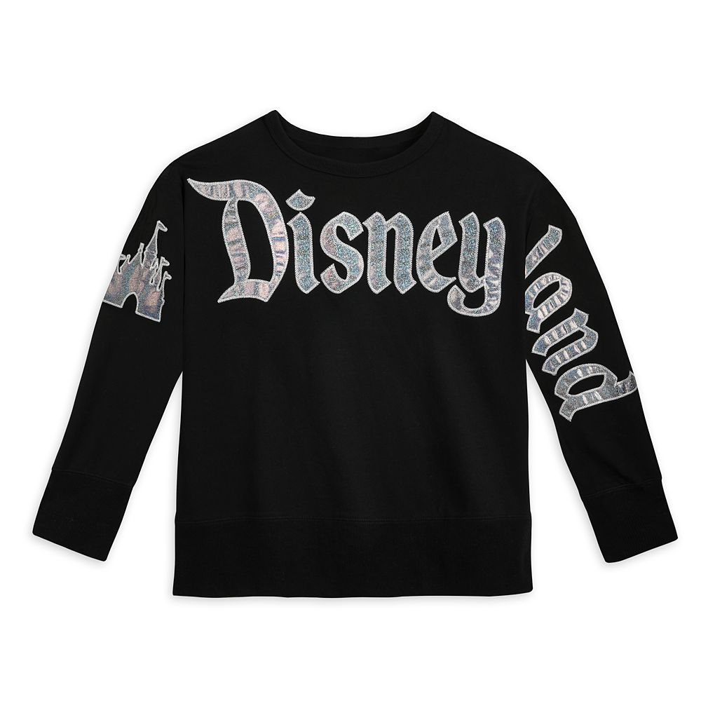 Disneyland Glitter Pullover Top for Women