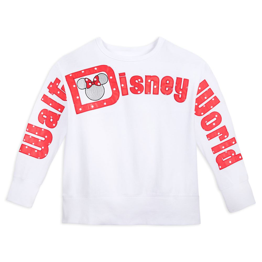 Minnie Mouse Icon Long Sleeve Pullover for Women – Walt Disney World