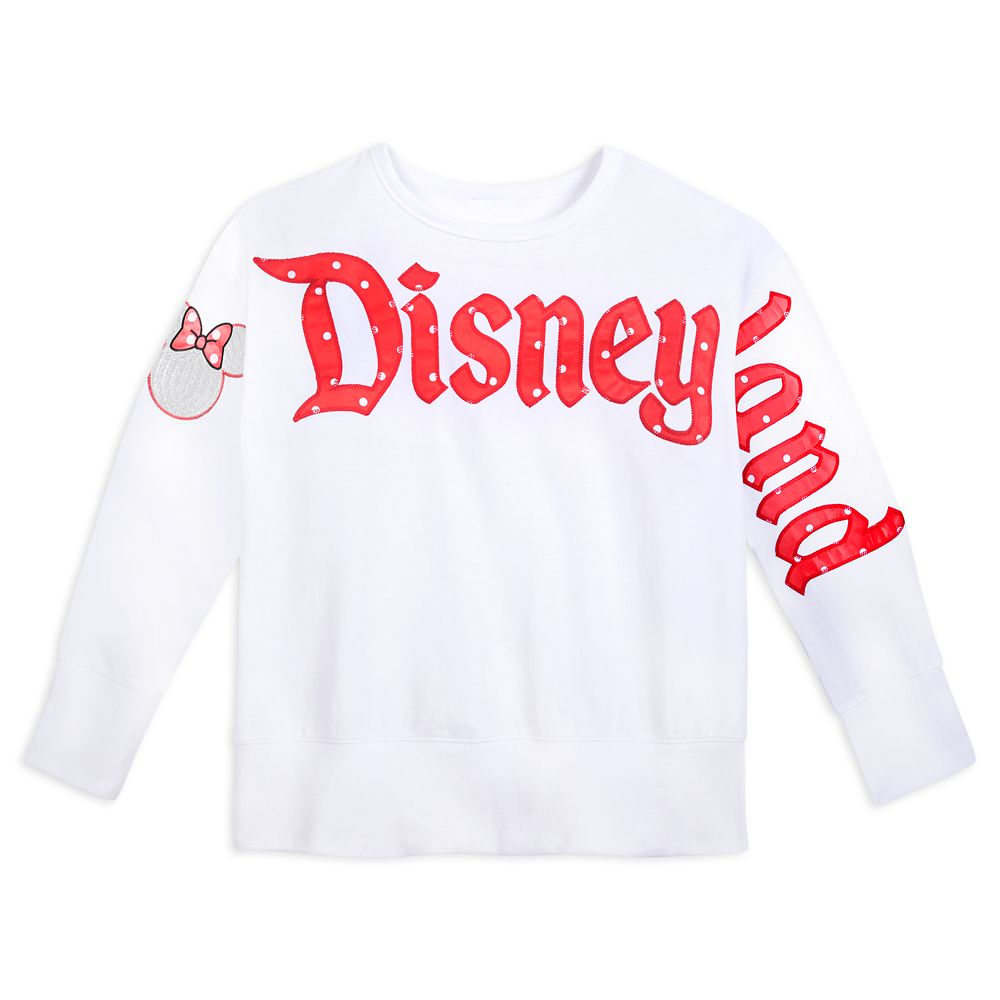 Minnie Mouse Icon Long Sleeve Pullover for Women – Disneyland
