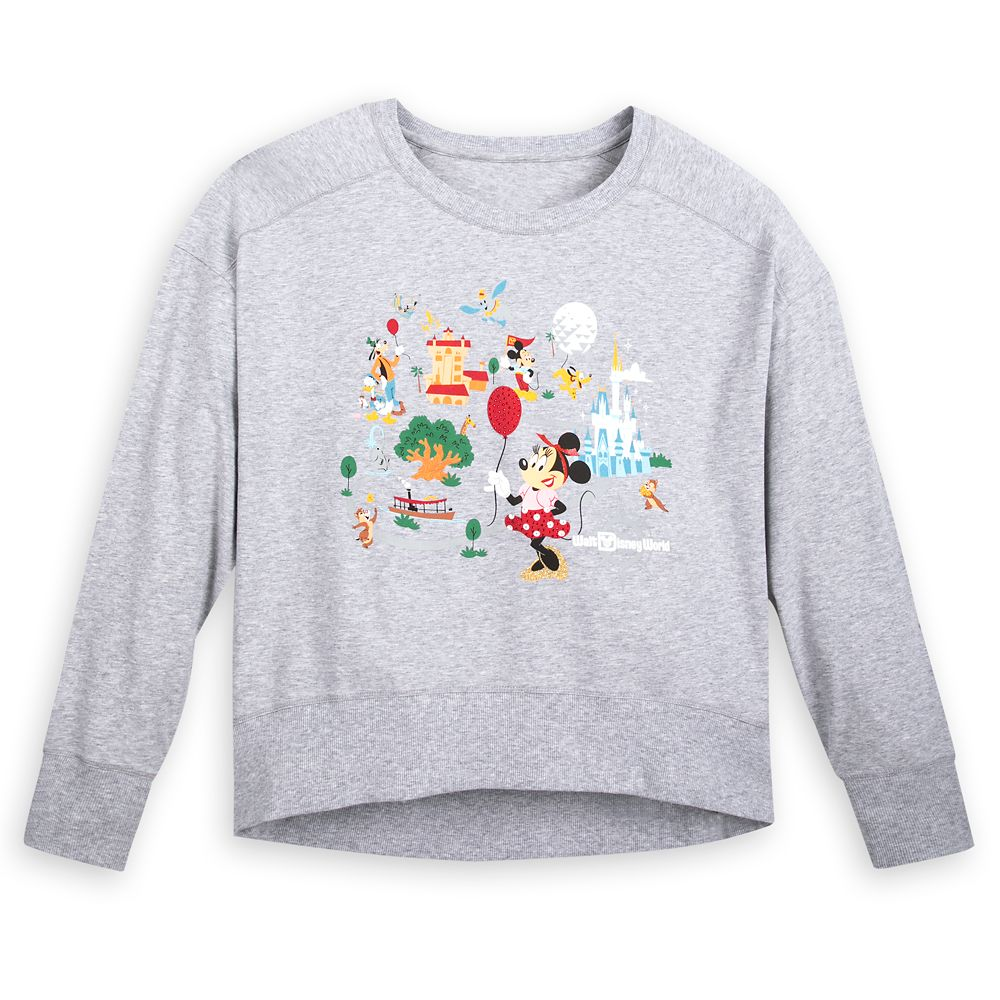 Mickey Mouse and Friends Pullover for Women – Walt Disney World