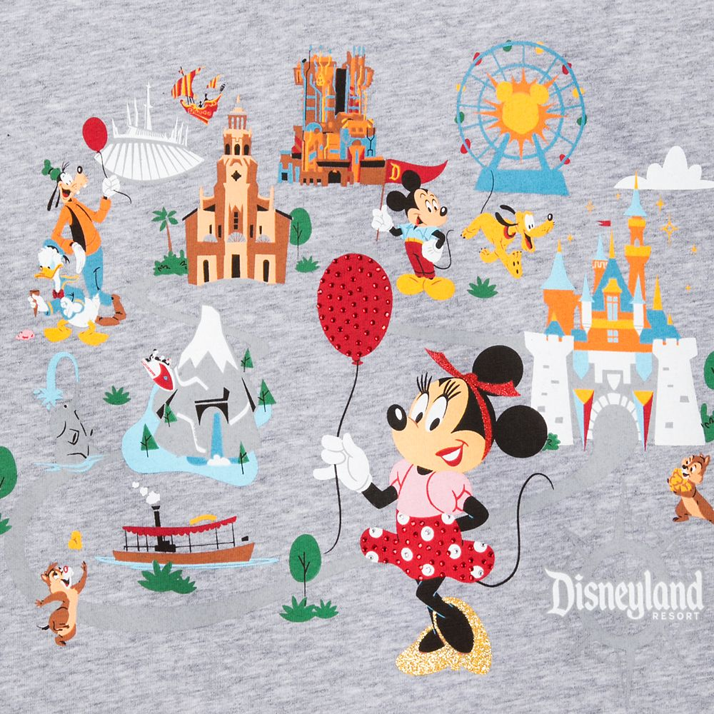 Mickey Mouse and Friends Pullover for Women – Disneyland