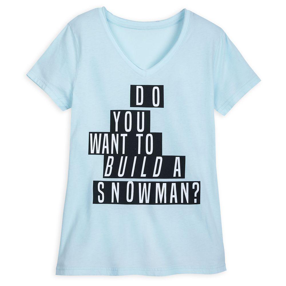 Frozen ''Build a Snowman'' T-Shirt for Women