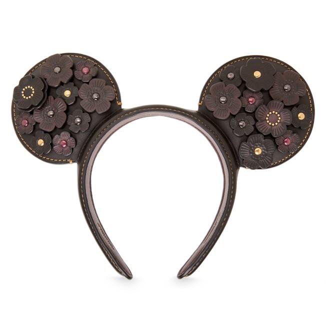 Minnie Mouse Leather Ear Headband by COACH
