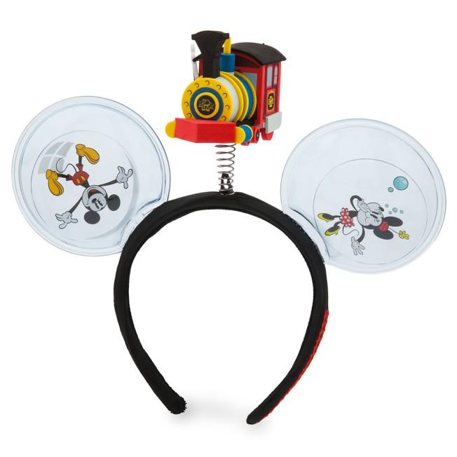 Mickey & Minnie's Runaway Railway Headband for Adults