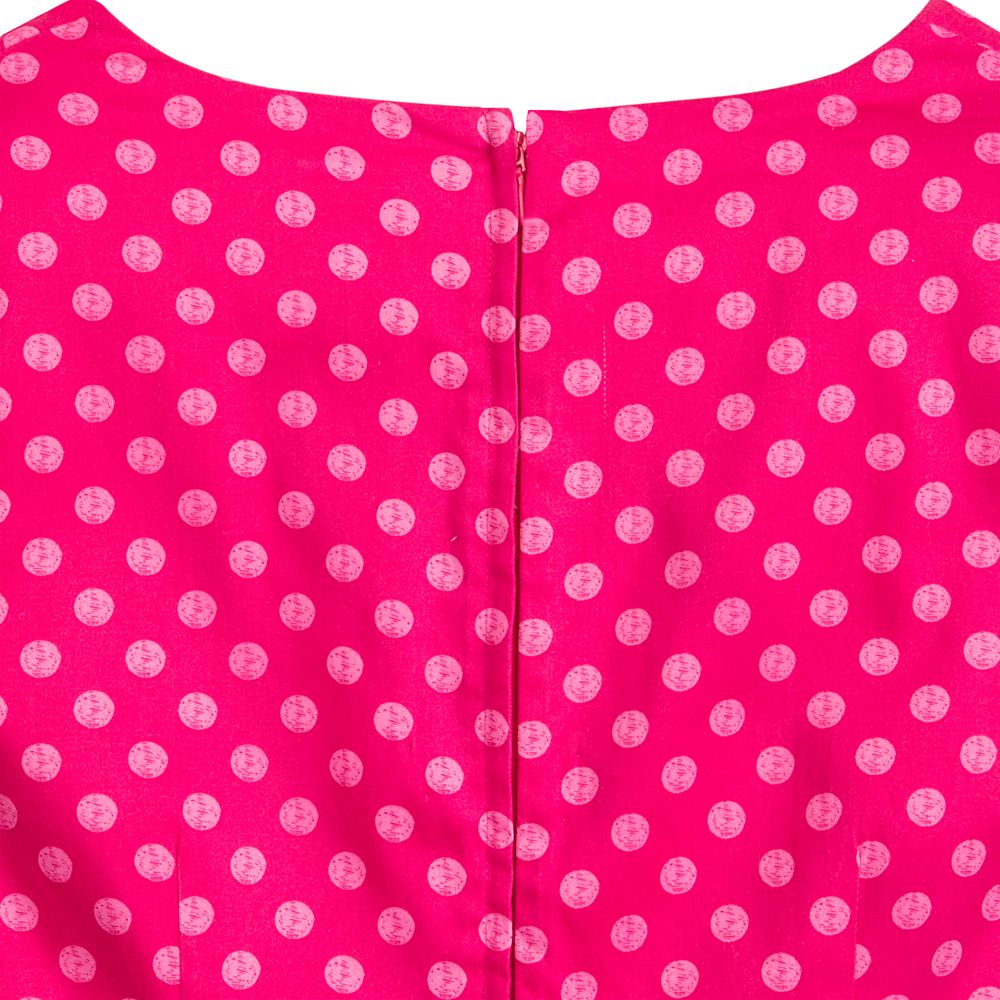 Minnie Mouse Pink Polka Dot Dress for Women