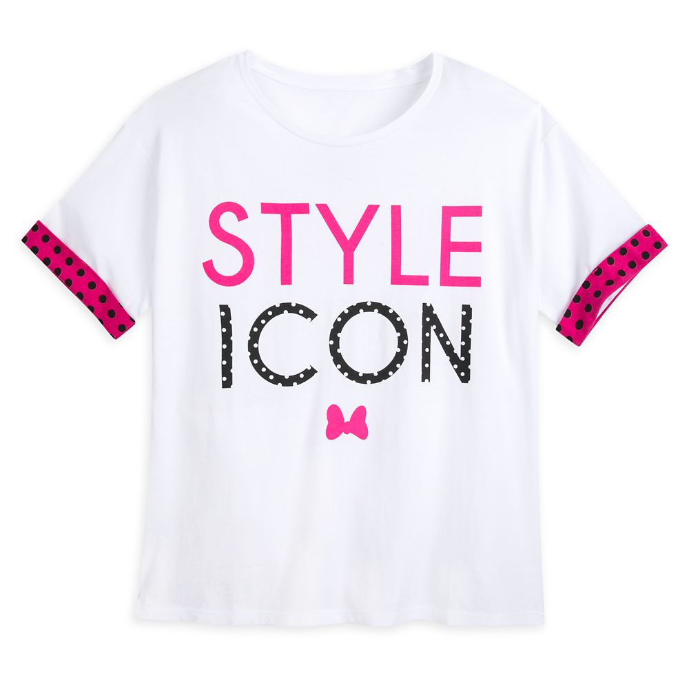 Minnie Mouse ''Style Icon'' Fashion T-Shirt for Women