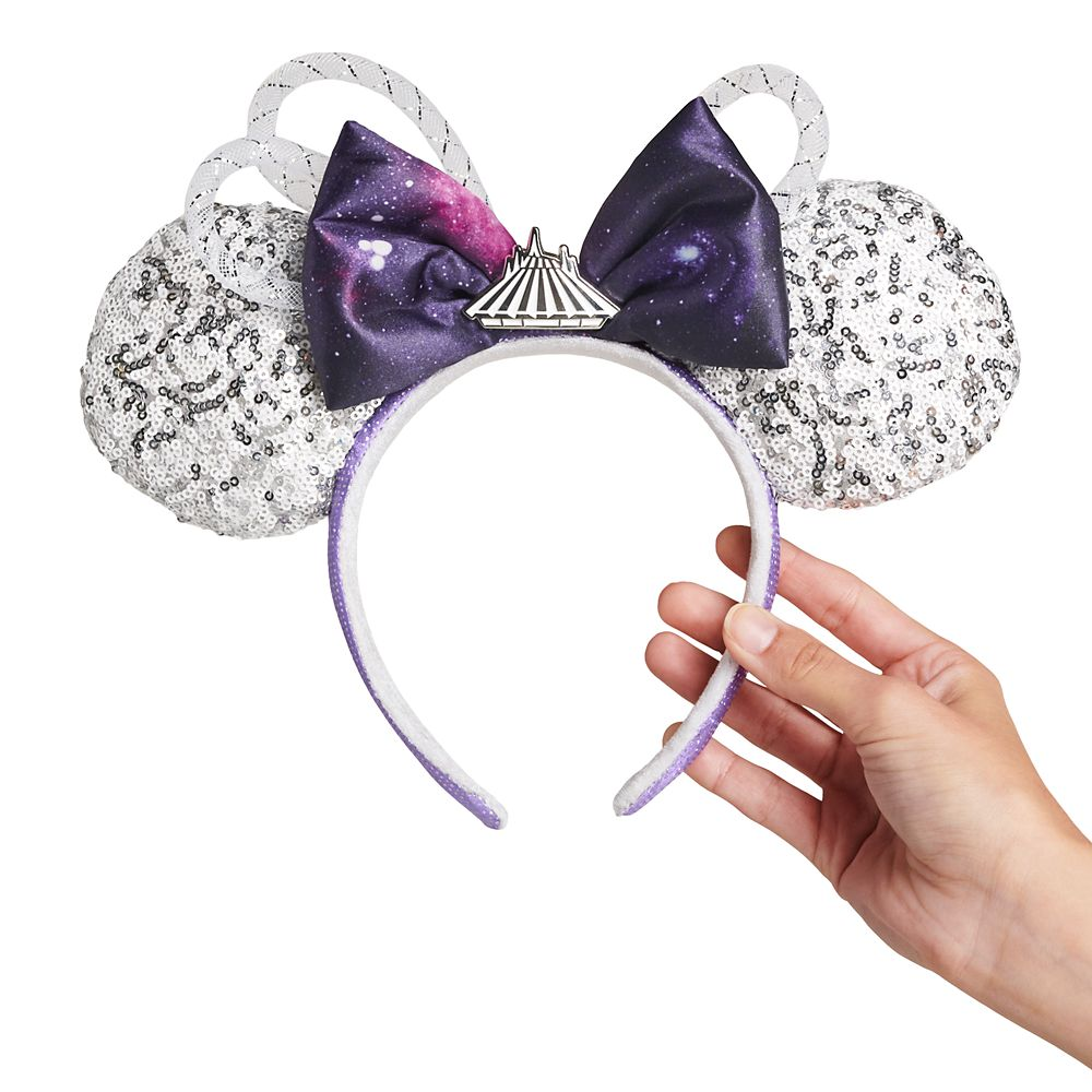 Minnie Mouse: The Main Attraction Ear Headband for Adults – Space Mountain – Limited Release