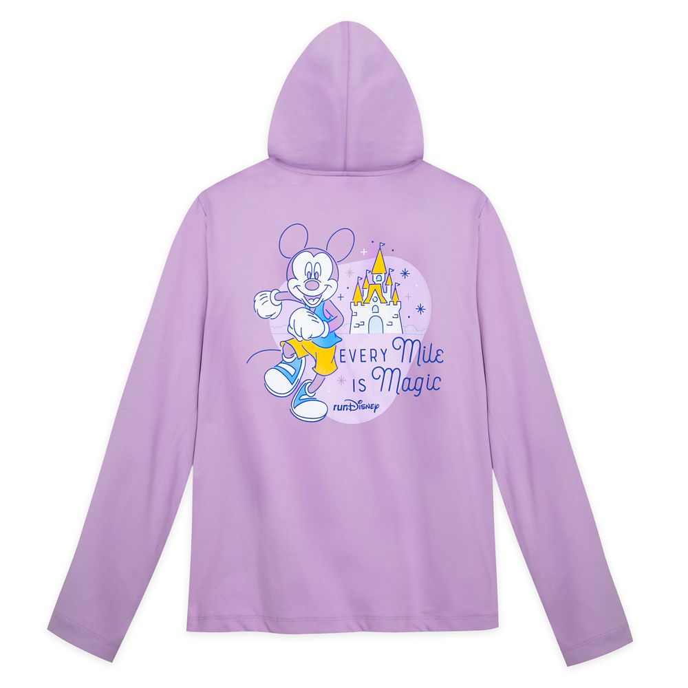 Mickey Mouse runDisney Hooded Performance Jacket for Women
