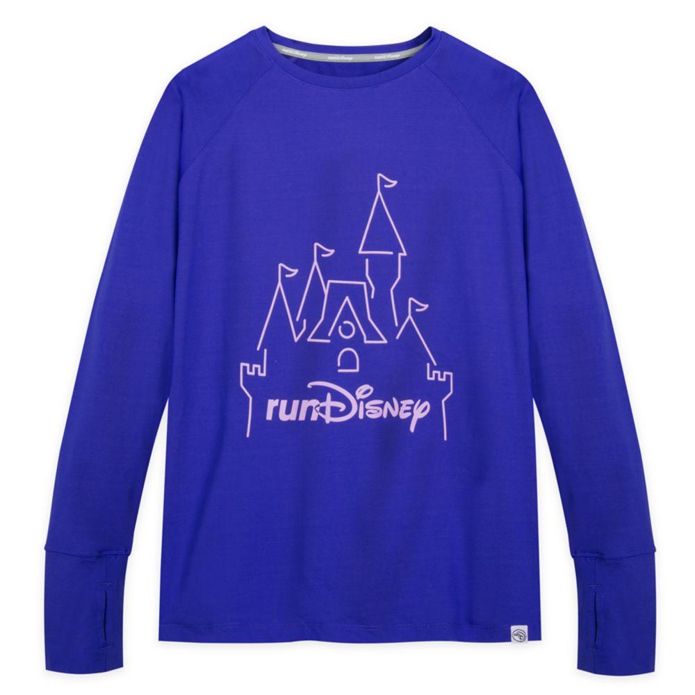 runDisney Long Sleeve Performance T-Shirt for Women