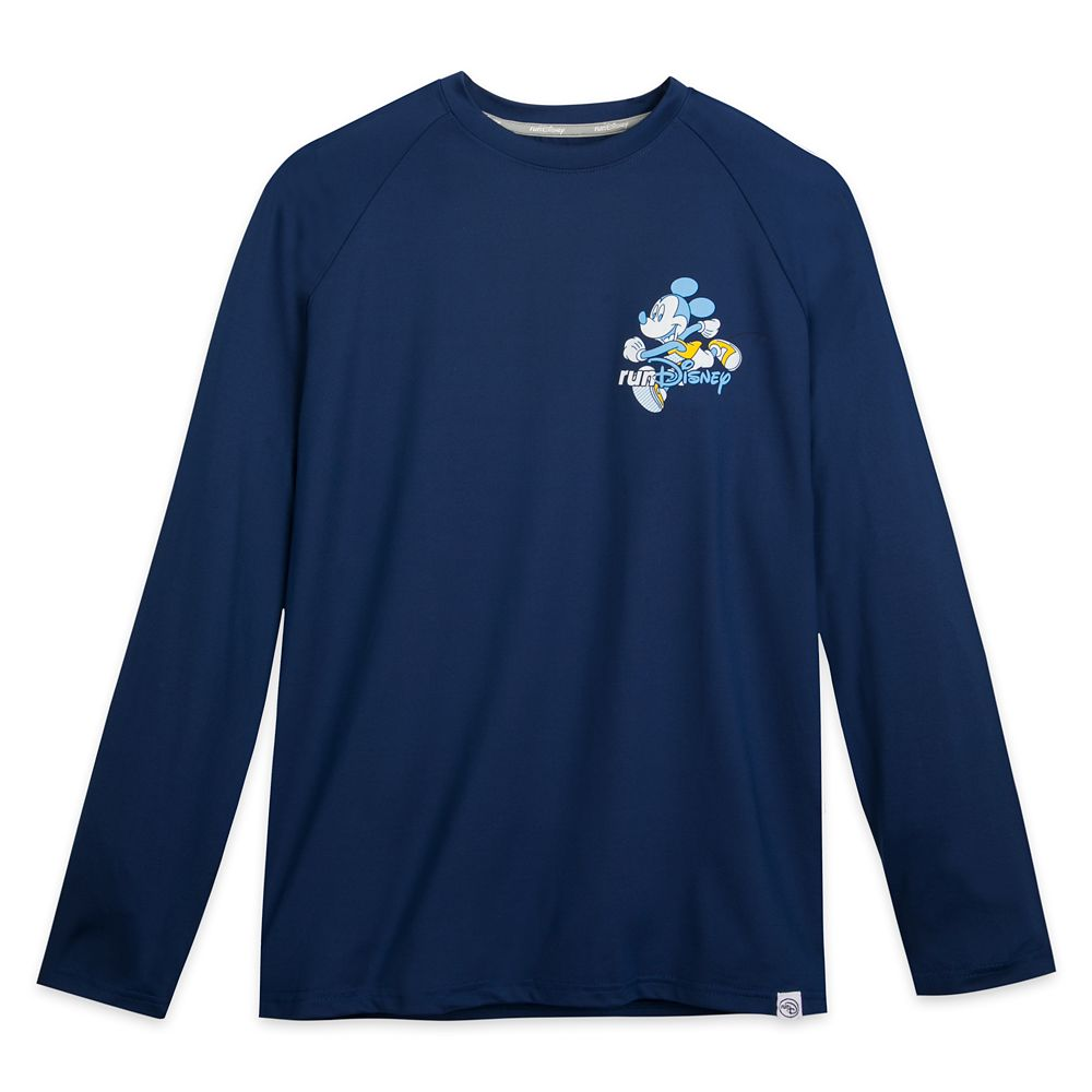 Mickey Mouse runDisney Long Sleeve Performance T-Shirt for Men