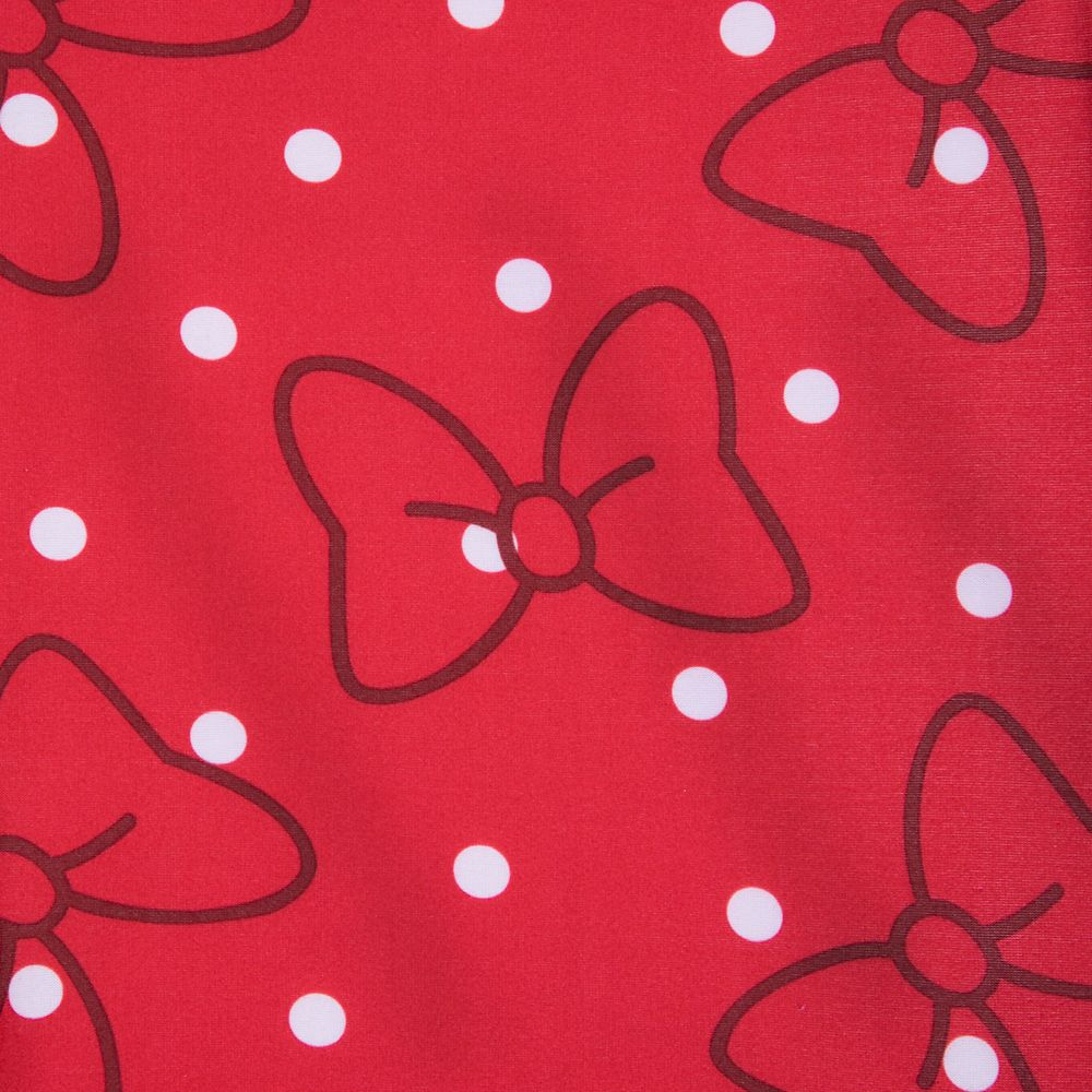 Minnie Mouse Red Bow Leggings for Women