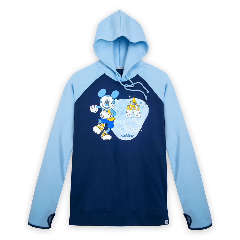 runDisney Long Sleeve Hooded Pullover for Adults