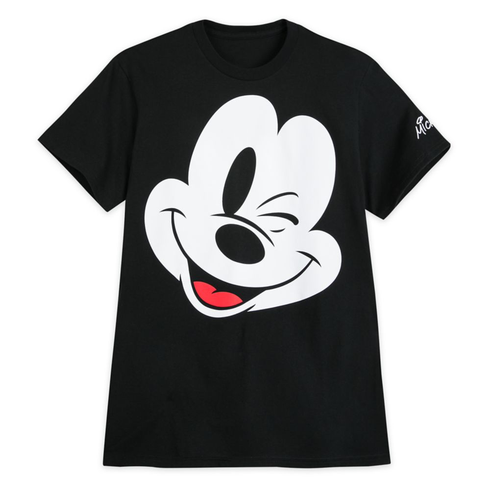 Mickey Mouse Winking T-Shirt for Men