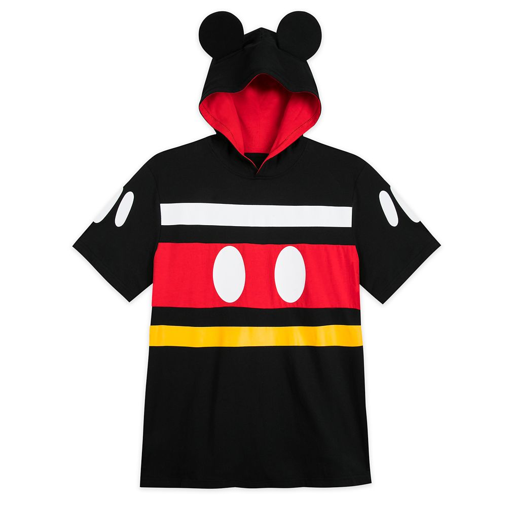 Mickey Mouse Costume Hooded T-Shirt for Men