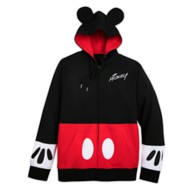 Mickey Mouse Costume Zip Hoodie for Men