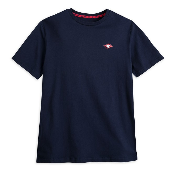 Disney Cruise Line Logo Tee for Adults – Navy