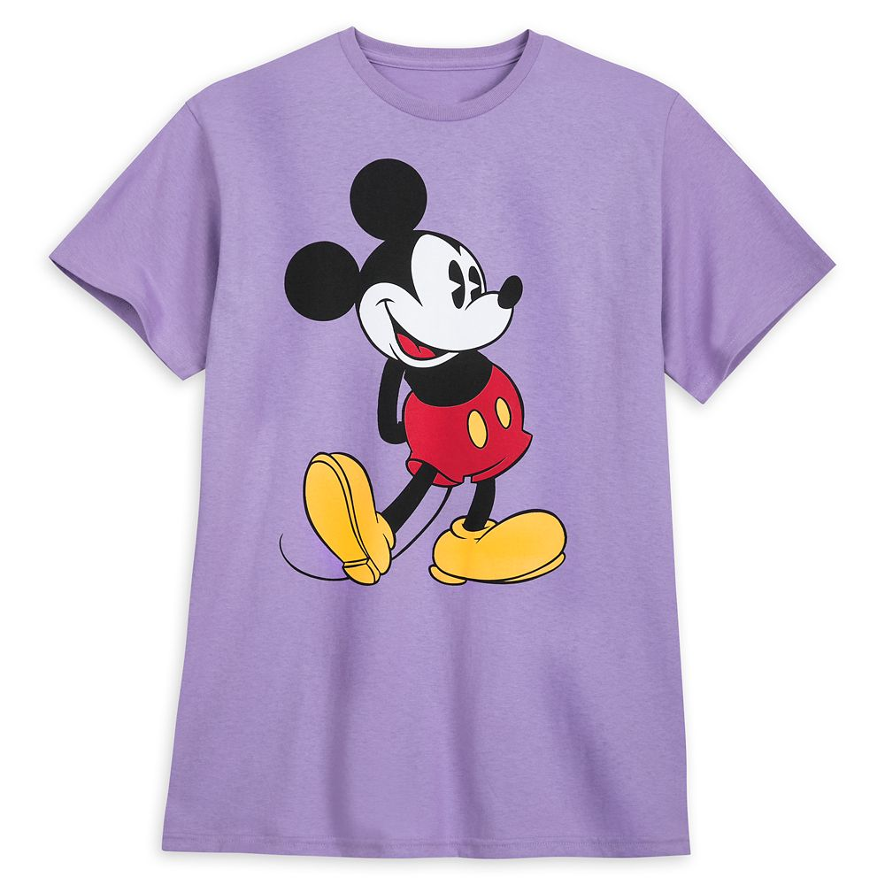 Mickey Mouse Classic T-Shirt for Adults – Lavender