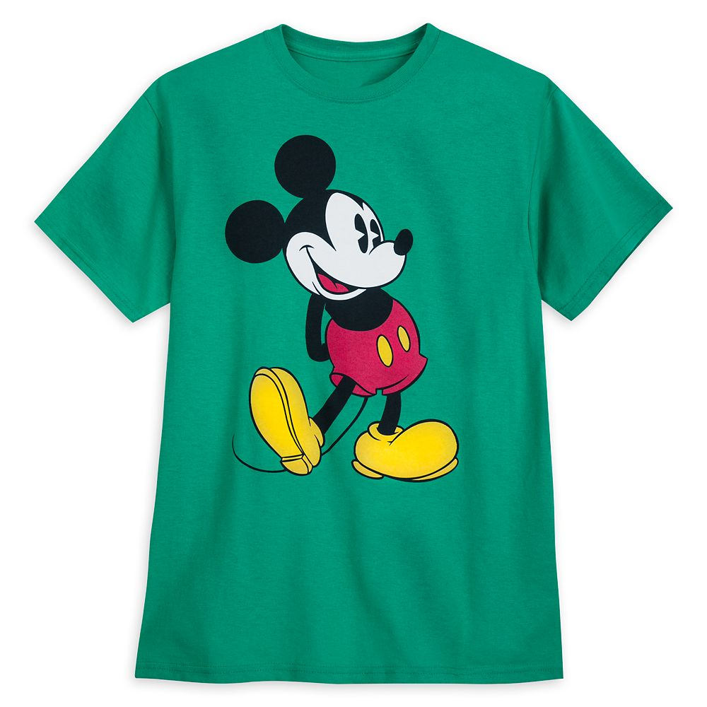Mickey Mouse Classic T-Shirt for Adults – Kelly Green