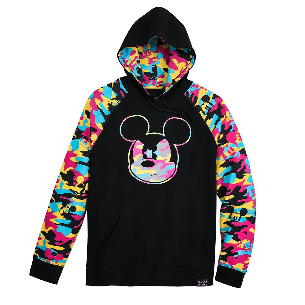 Mickey Mouse Camouflage Pullover Hoodie for Men