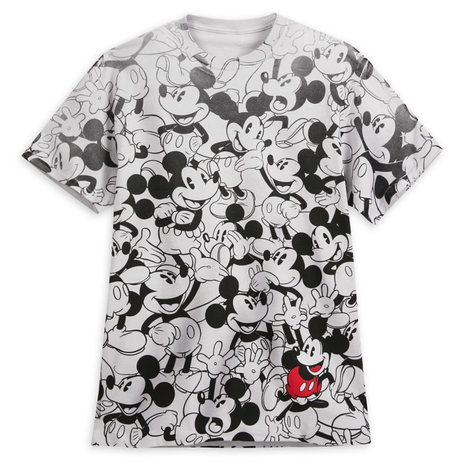 Mickey Mouse Allover T-Shirt for Adults
