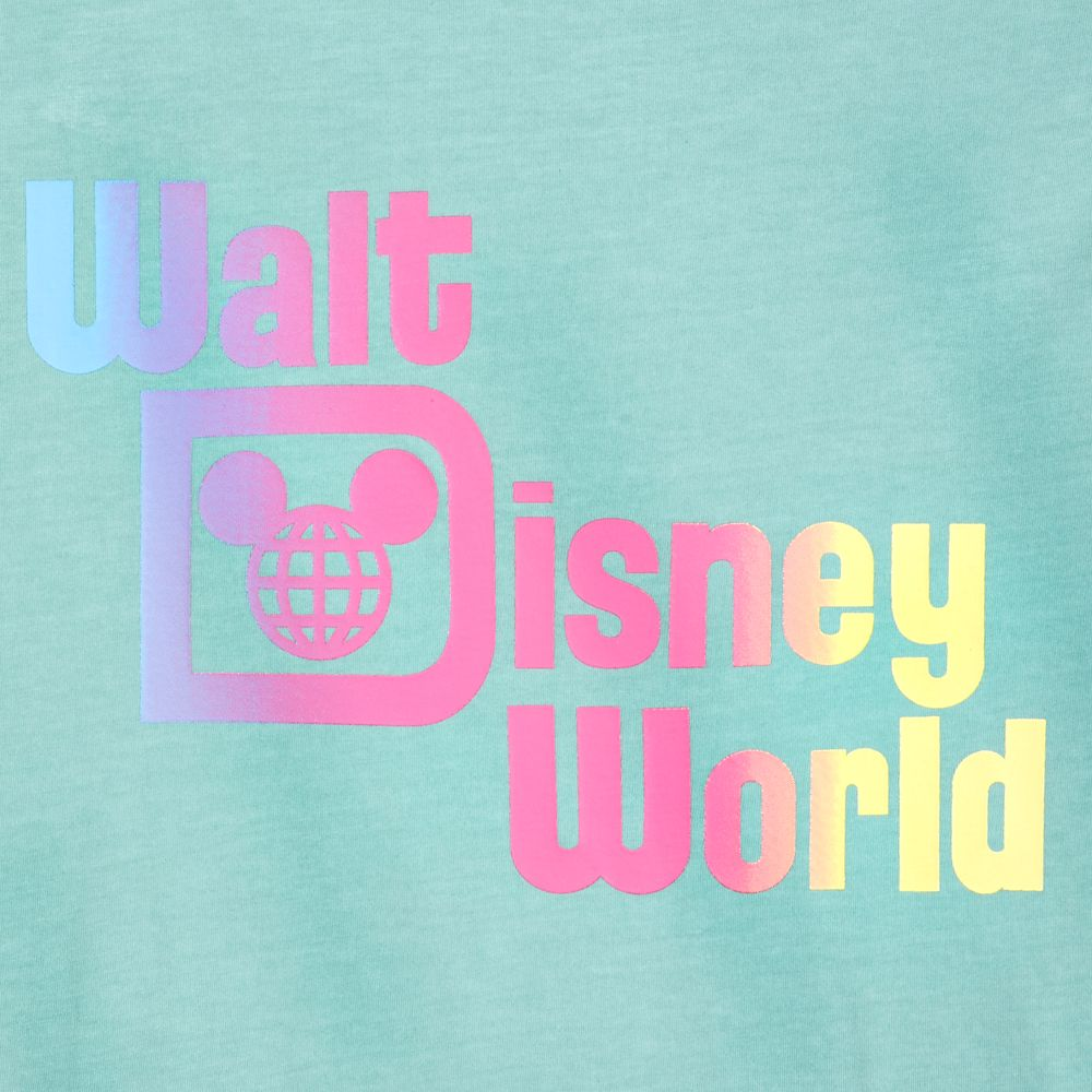 Walt Disney World Resort Faded Green T-Shirt for Men