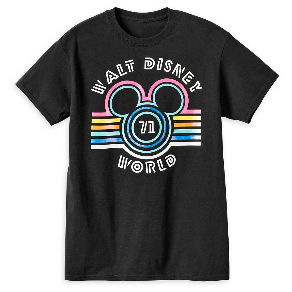 Mickey Mouse Icon Striped T-Shirt for Adults – Walt Disney World
