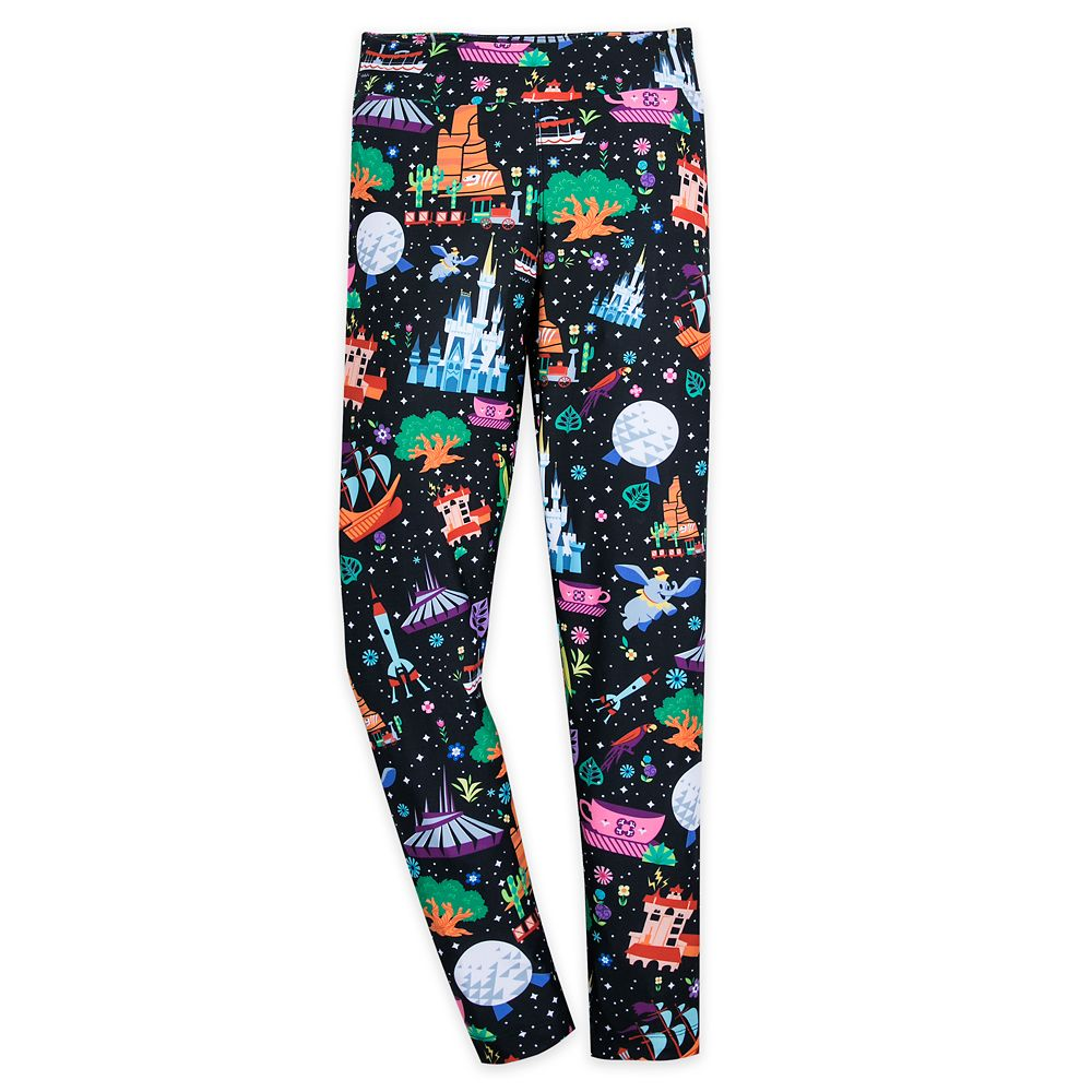 Walt Disney World Icons Leggings for Women