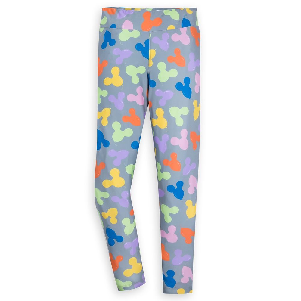 Mickey Mouse Balloon Leggings for Women – Gray