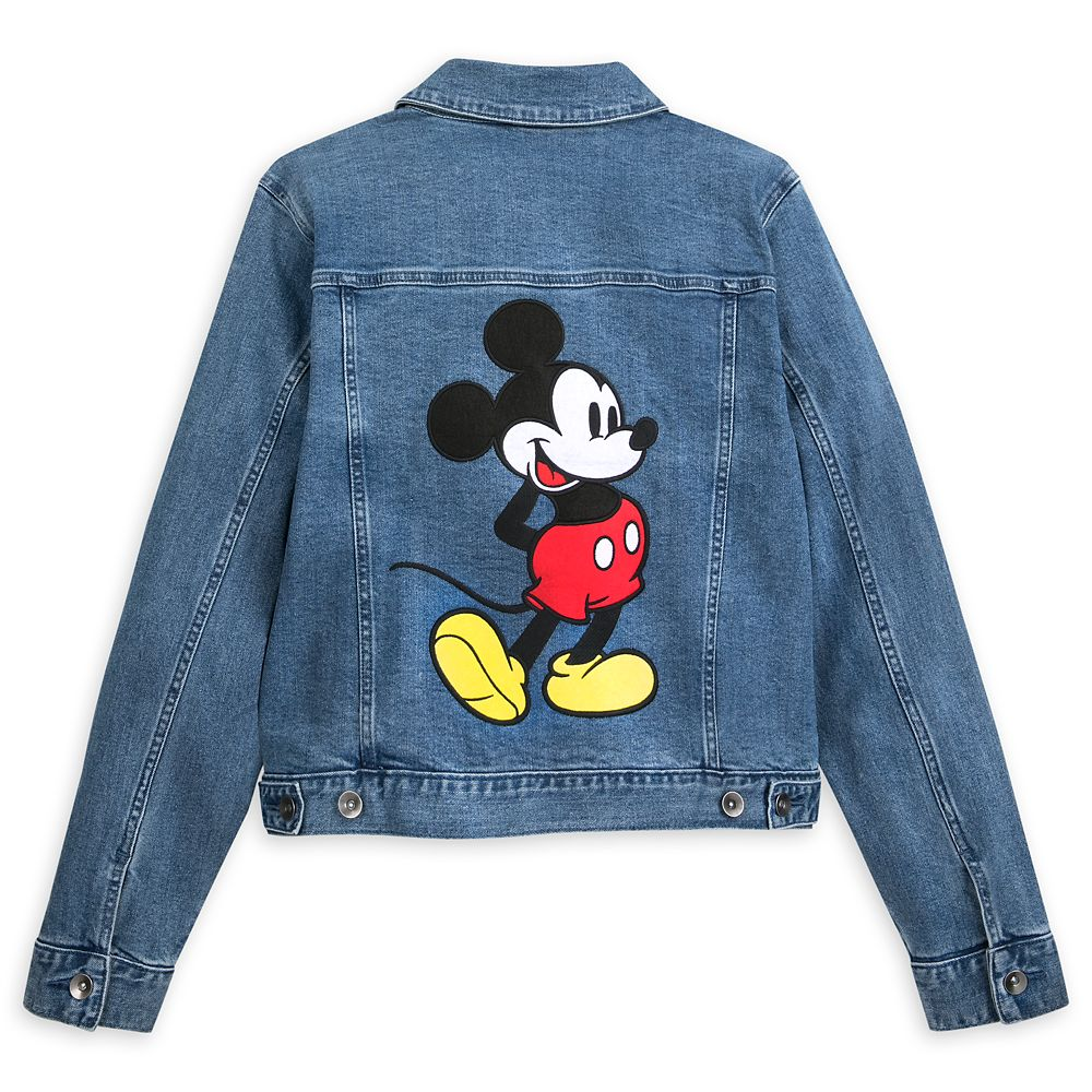 Mickey Mouse Denim Jacket for Women by Her Universe