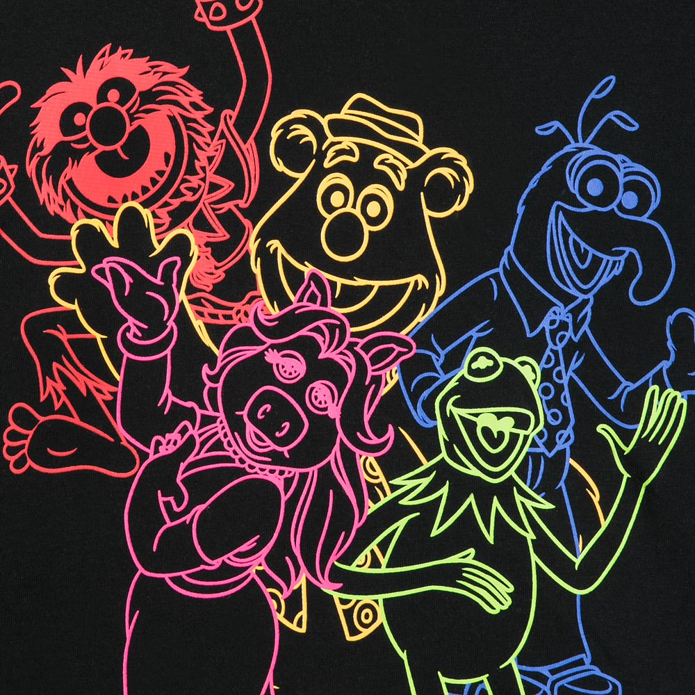 The Muppets Neon T-Shirt for Women