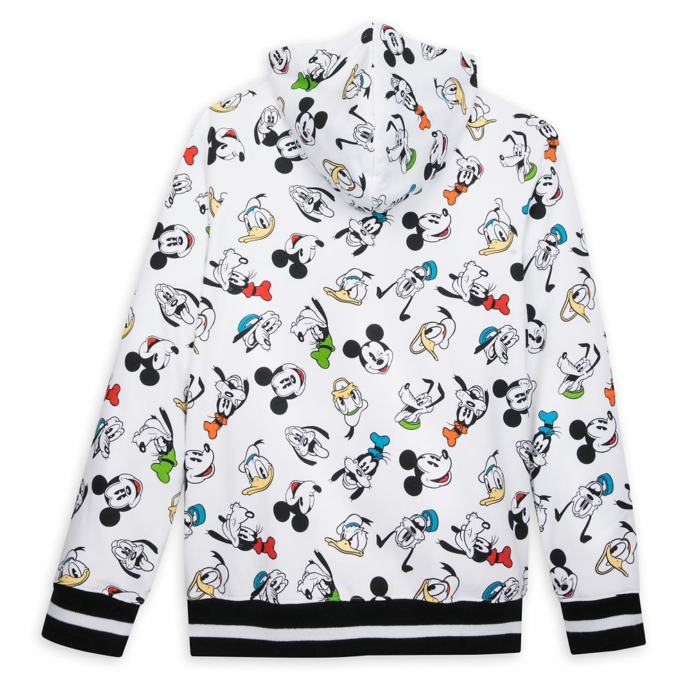 Mickey Mouse and Friends Zip-Up Hoodie for Men