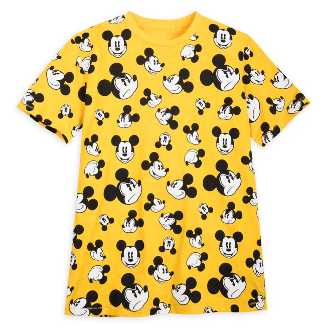 Mickey Mouse Faces T-Shirt for Men