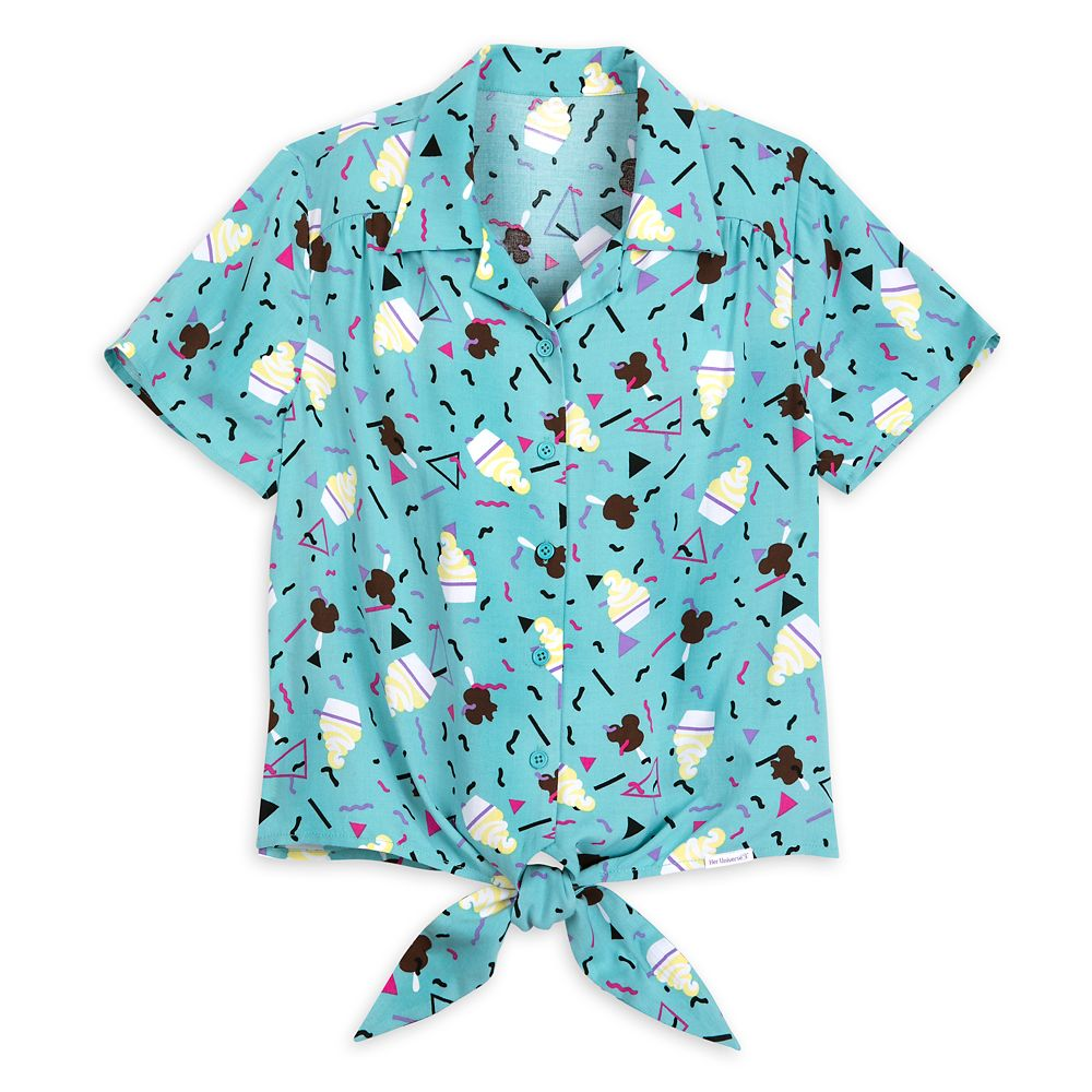 Disney Parks Treats Woven Shirt for Women by Her Universe
