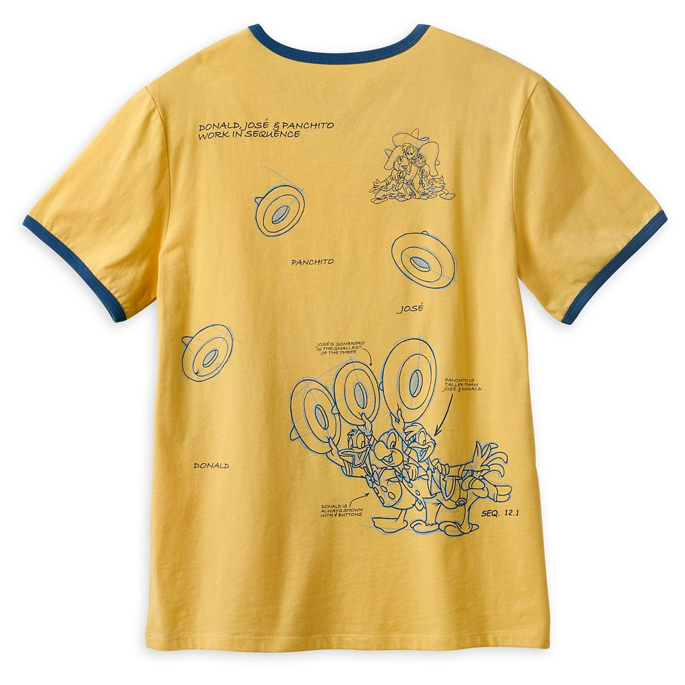 The Three Caballeros Ringer T-Shirt for Adults – Disney Ink & Paint