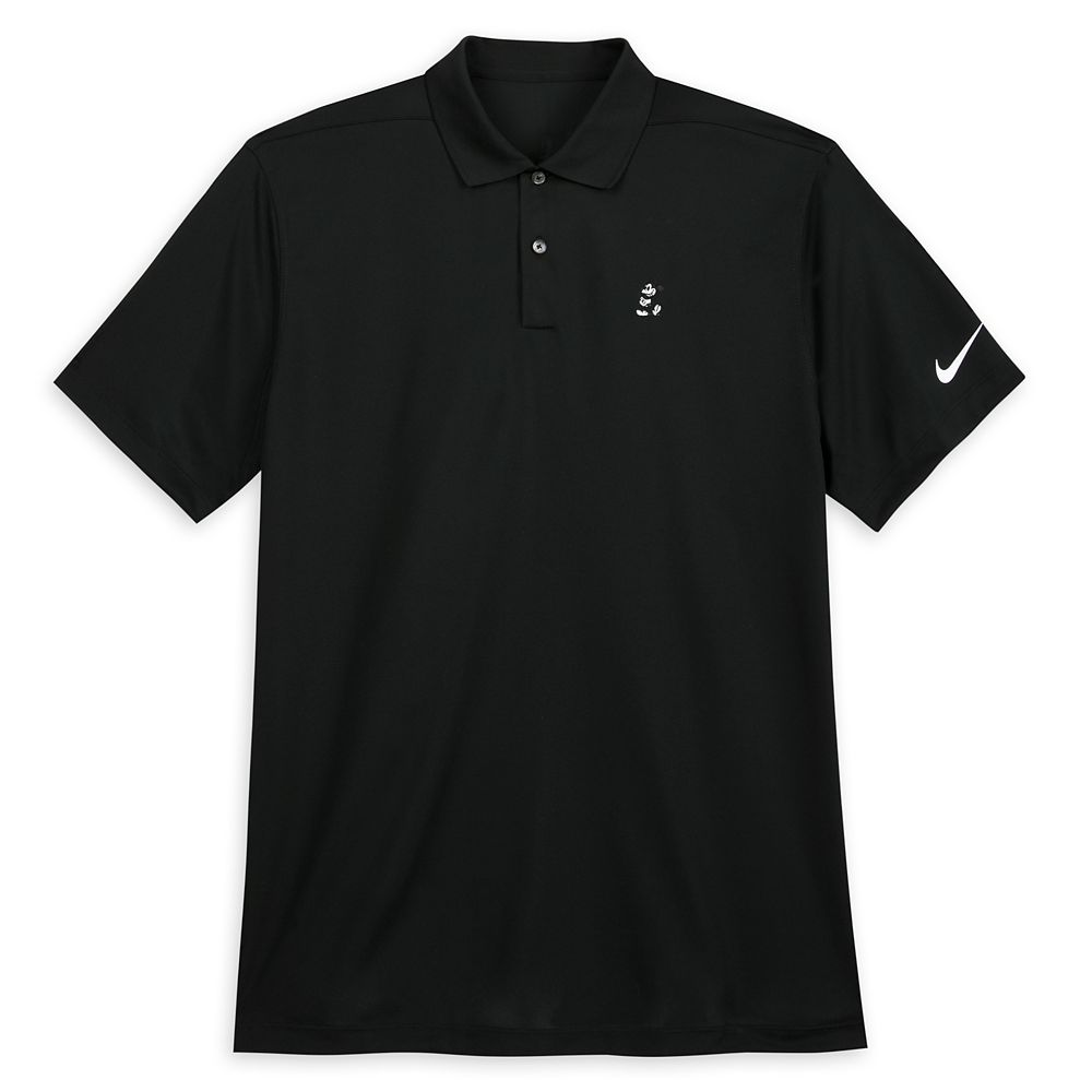 Mickey Mouse Performance Polo Shirt for Men by Nike – Black