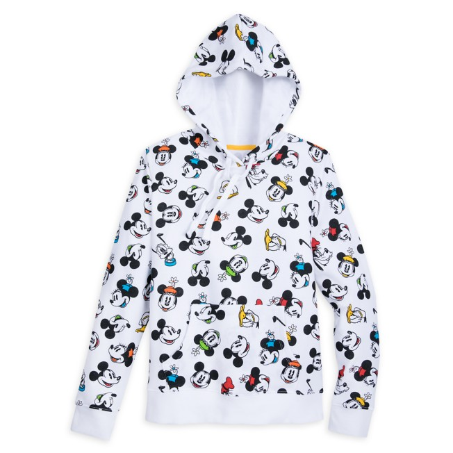 Mickey Mouse and Friends Pullover Hoodie for Women