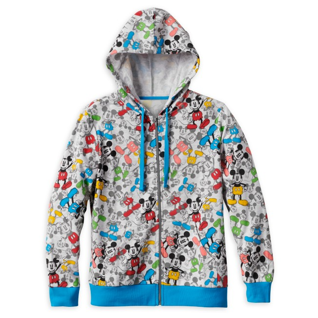 Mickey Mouse Lounge Zip Hoodie for Women
