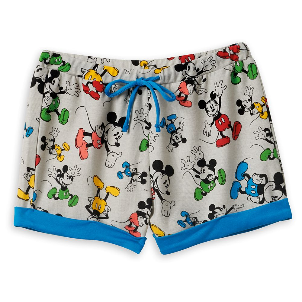Mickey Mouse Lounge Shorts for Women