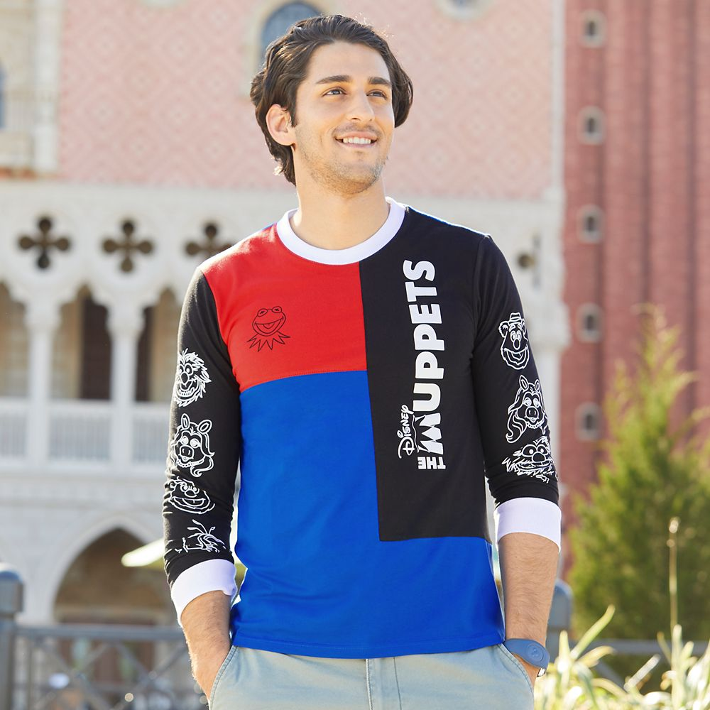 The Muppets Long Sleeve T-Shirt for Men