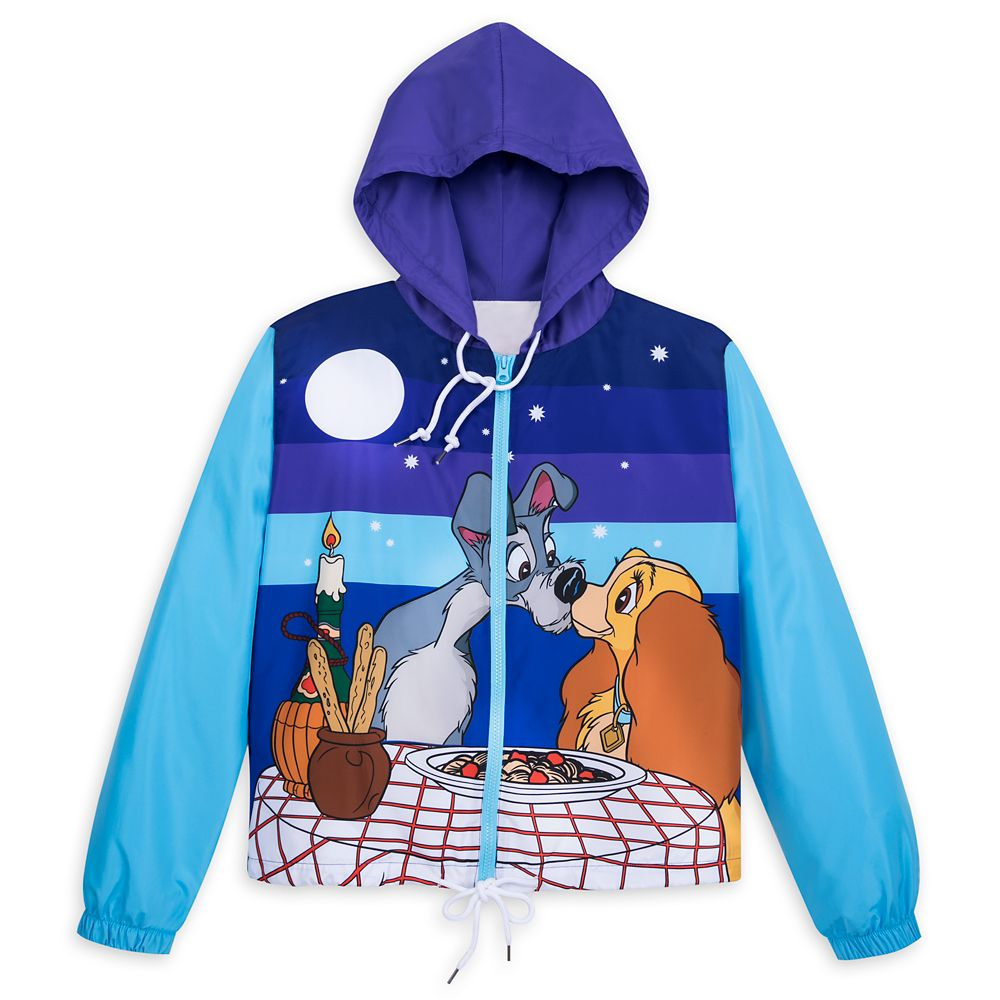 Lady and the Tramp Windbreaker for Women