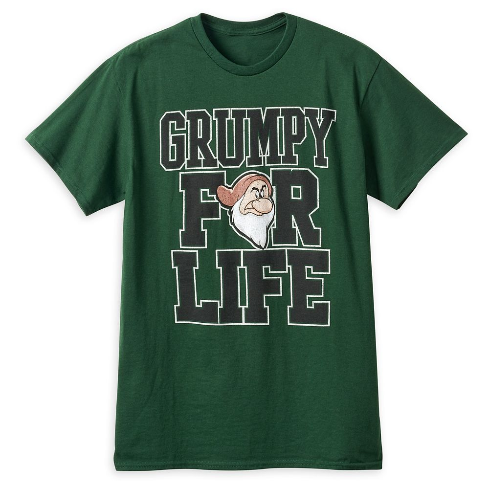 Grumpy ''For Life'' T-Shirt for Adults