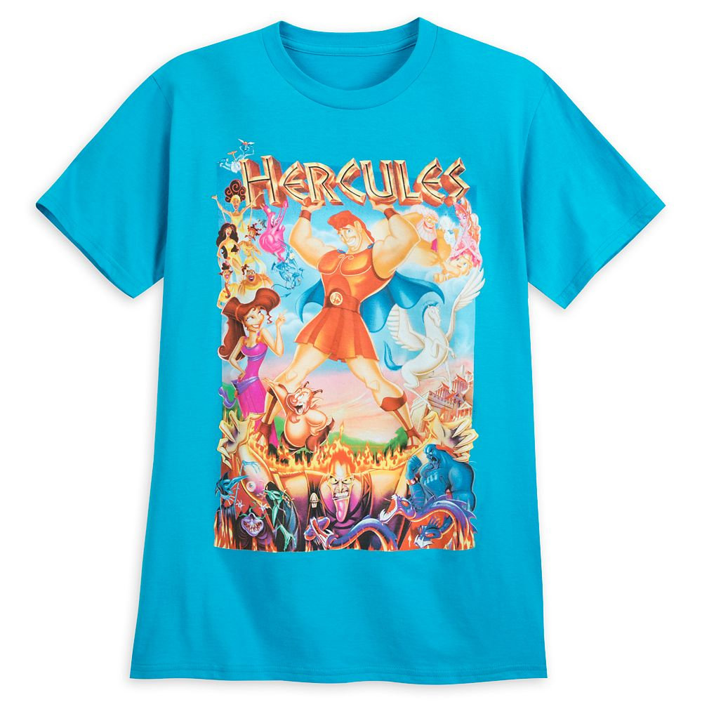 Hercules Movie Poster T-Shirt for Adults