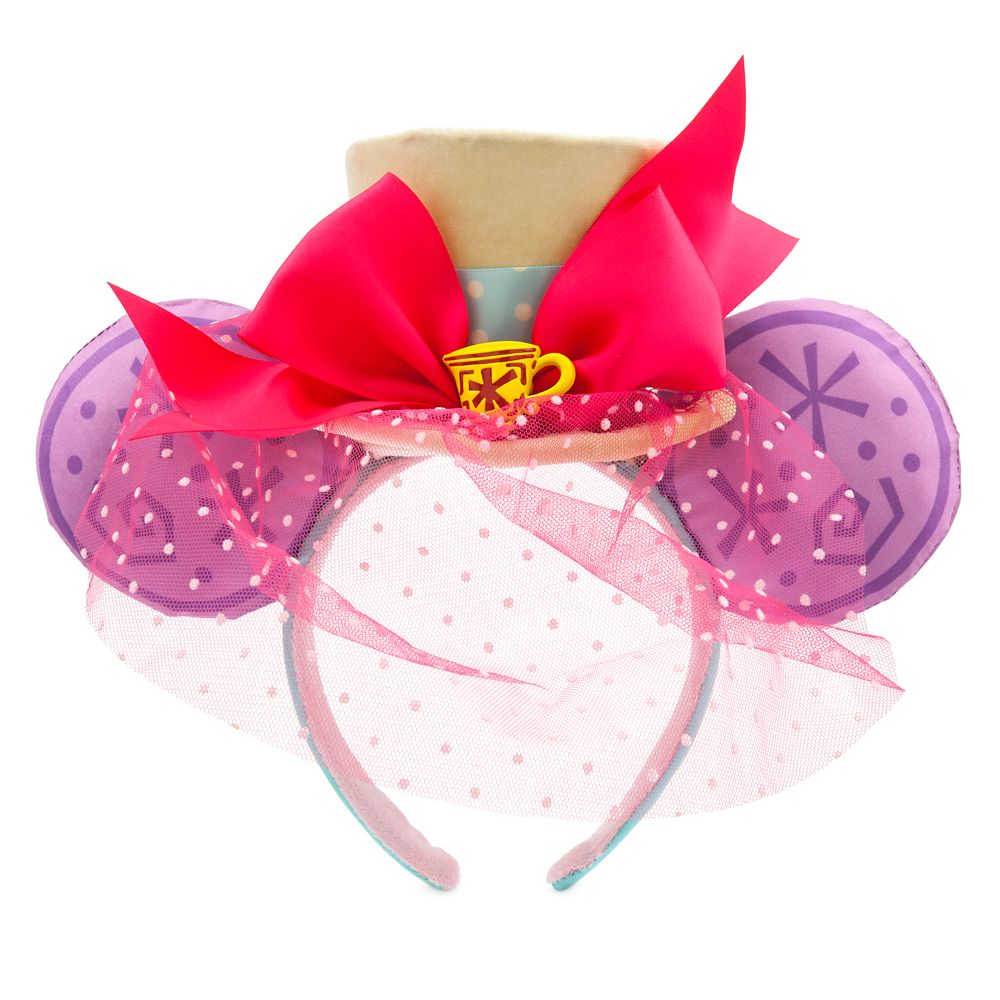 Minnie Mouse: The Main Attraction Ear Headband for Adults – Mad Tea Party – Limited Release