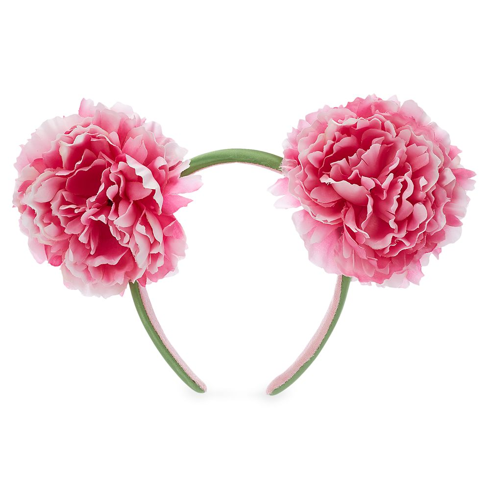 Mickey Mouse Floral Ear Headband