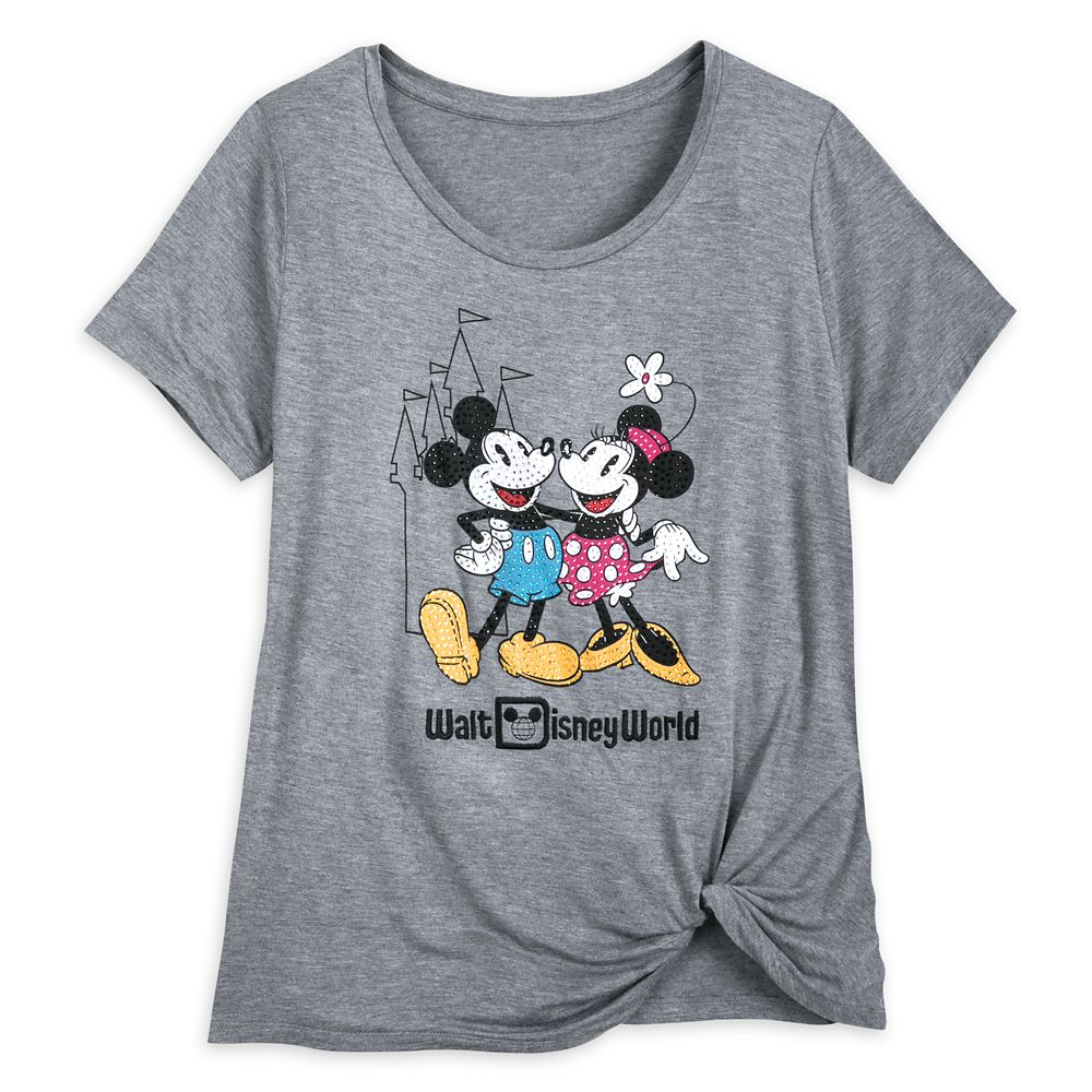 Mickey and Minnie Mouse Fashion T-Shirt for Women – Walt Disney World